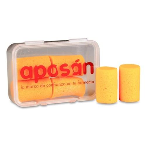 Tapones oidos espuma - aposan (4 u)
