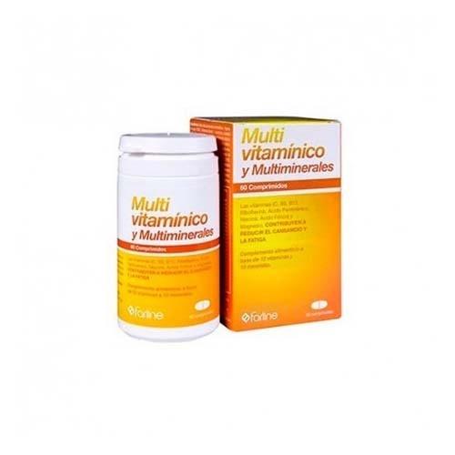 Farline multivitaminico y multiminerales (60 comprimidos)
