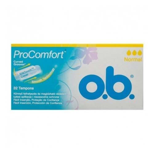 Tampones procomfort - o.b. (normal 32 tampones)