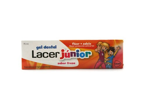 Lacer junior gel dental (50 ml fresa)