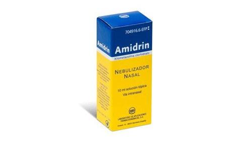 AMIDRIN 1 mg/ml SOLUCION PARA PULVERIZACION NASAL , 1 frasco de 15 ml