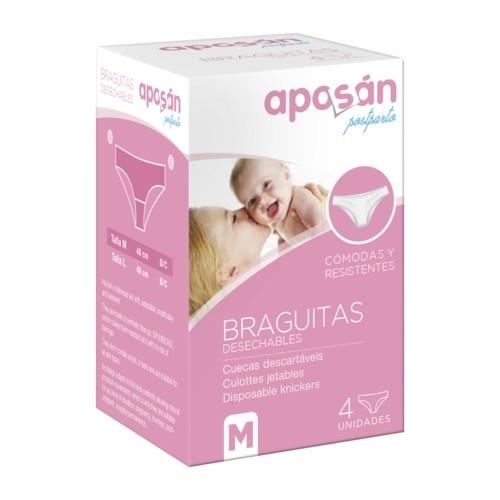 Braga desechable aposan (t- med 4 u)