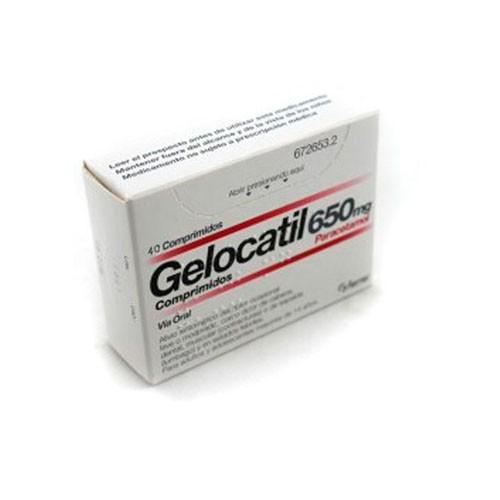 (b) gelocatil 650 mg 40 comp