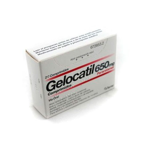 (b) gelocatil 650 mg 20 comp