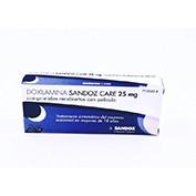 DOXILAMINA SANDOZ CARE 25 MG COMPRIMIDOS RECUBIERTOS CON PELICULA , 14 comprimidos