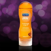 DUREX PLAY GEL MASSAGE GUARANA ESTIMULANTE 200 ML