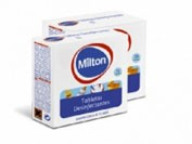 Milton tabletas desinfectantes (16 tabletas)