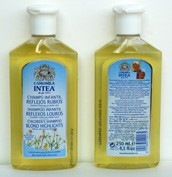 Camomila intea champu infantil reflejos rubios (250 ml)
