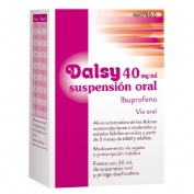 DALSY 40 mg/ml SUSPENSION ORAL , 1 frasco de 30 ml