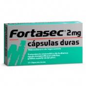 FORTASEC 2 mg CAPSULAS DURAS 10 cápsulas
