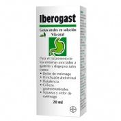 IBEROGAST GOTAS ORALES EN SOLUCION, 1 frasco de 20 ml