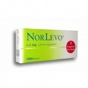 NORLEVO 1500 microgramos  comprimido 1 comprimido