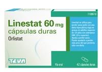LINESTAT 60 MG CAPSULAS DURAS, 42 cápsulas ( Blister )