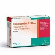 OMEPROTECT 20 mg CAPSULAS DURAS GASTRORRESISTENTES, 14 cápsulas (frasco)