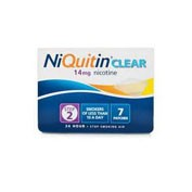 NIQUITIN CLEAR 14 mg, 24 HORAS PARCHE TRANSDERMICO , 7 parches