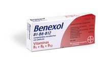 BENEXOL B1-B6-B12 COMPRIMIDOS RECUBIERTOS CON PELICULA, 30 comprimidos