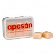 Tapones oidos silicona - aposan (6 u)