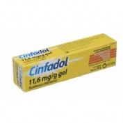 CINFADOL 11,6 mg/g GEL , 1 tubo de 60 g