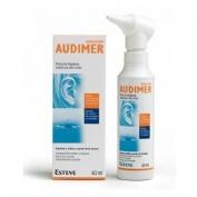 Audimer audiclean solucion - limpieza oidos (60 ml)