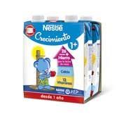 Nestle crecimiento proteccion 1+ (500 ml 4 u)