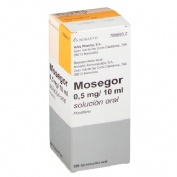 MOSEGOR 0,5 mg/10 ml SOLUCION ORAL , 1 frasco de 200 ml