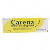CARENA  5 mg/g + 270 mg/g POMADA , 1 tubo de 65 g