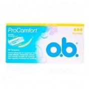 Tampones procomfort - o.b. (normal 16 tampones)
